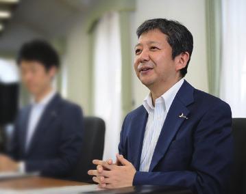 キャリア支援課・課長補佐の矢橋洋氏