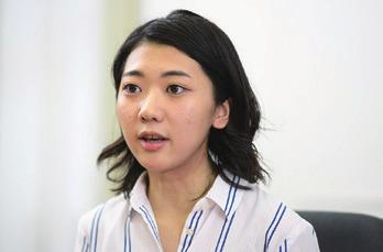 人間福祉学部4年 中村茉央さん コクヨ株式会社内定