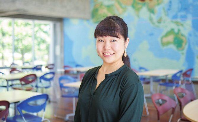 人間科学部・人間科学科2年の澤幡真帆さん