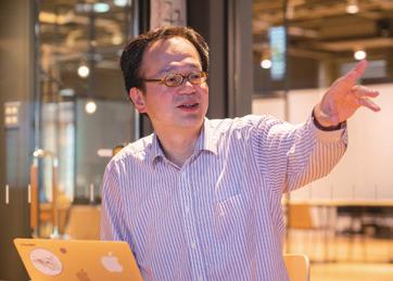工学部情報工学科の中沢実教授