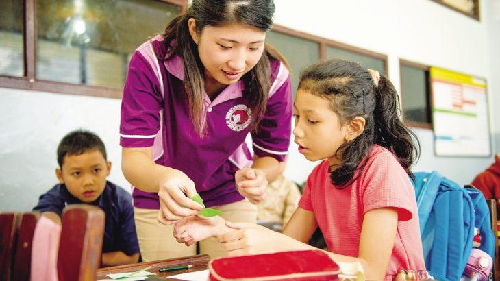 【関西学院大学の改革力CASE.2-3】国際ボランティア グローバルに学ぶこととは、「人としていかに生きるか」を考えること