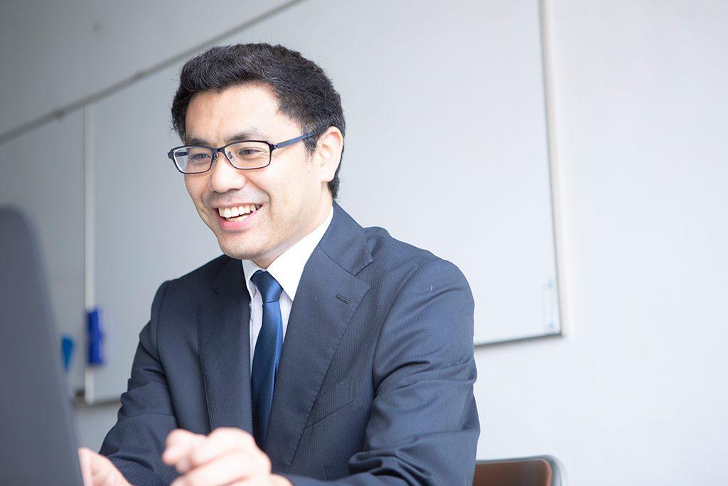 IBDPコーディネーターを務める田中宏作先生