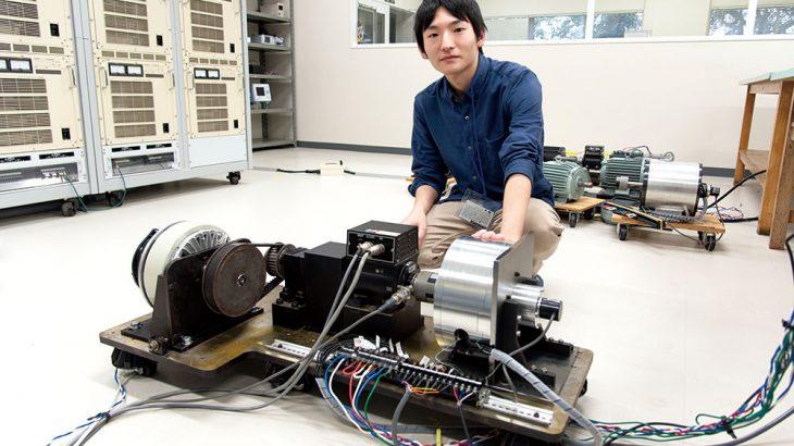 電気自動車を変える新構造のモーターを学生主体で製作