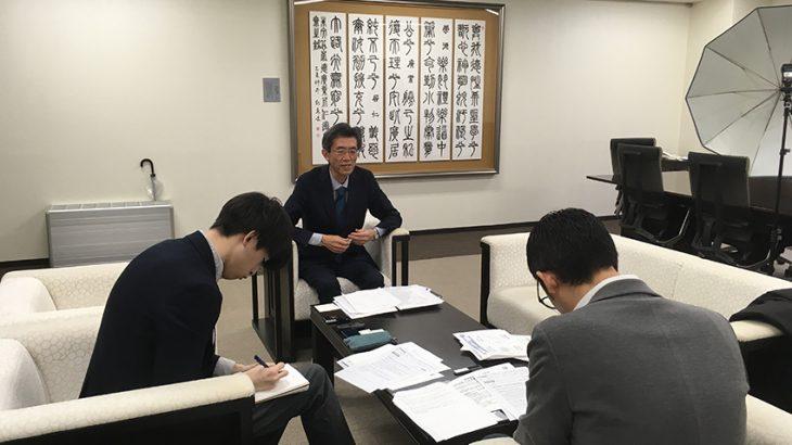 東京理科大学の渡辺一之副学長に取材しました