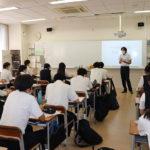 東京農業大学第一高等学校で「キャリア授業」を実施 — さまざまな職業の保護者が講師を務め、仕事や生き方について生徒に講義